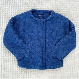 Baby Gap quilted chambray jacket